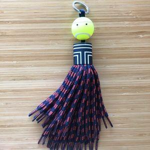 Mr. Grumps Tory Burch Tennis Keychain